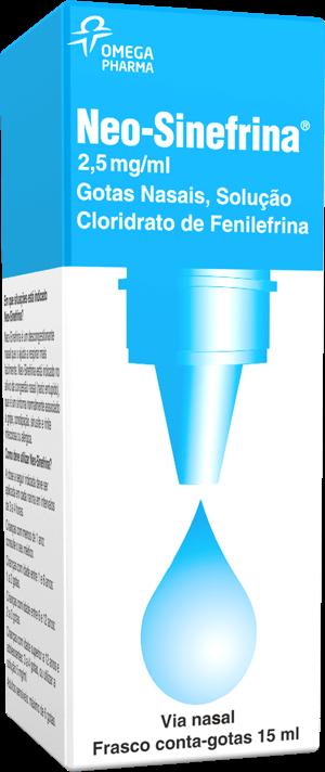 Neo-Sinefrina® - Nariz Descongestionado